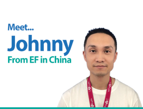 Meet Johnny – From our partner schools in China