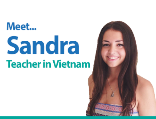 Meet Sandra – A Let's TEFL graduate now teaching in Vietnam!