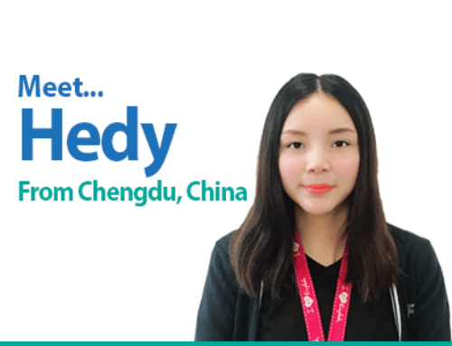 Meet Hedy – From our partner schools in China